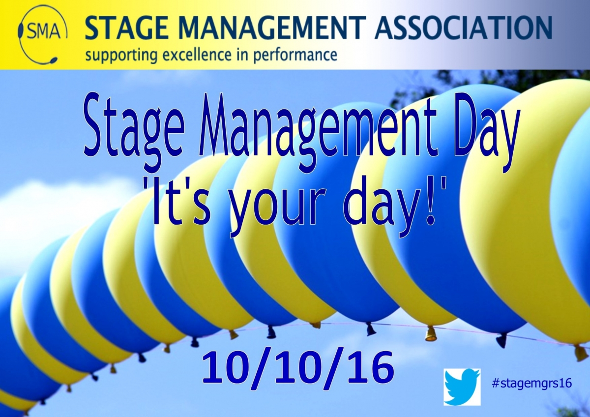 October 10th (10/10) is Stage Management Day