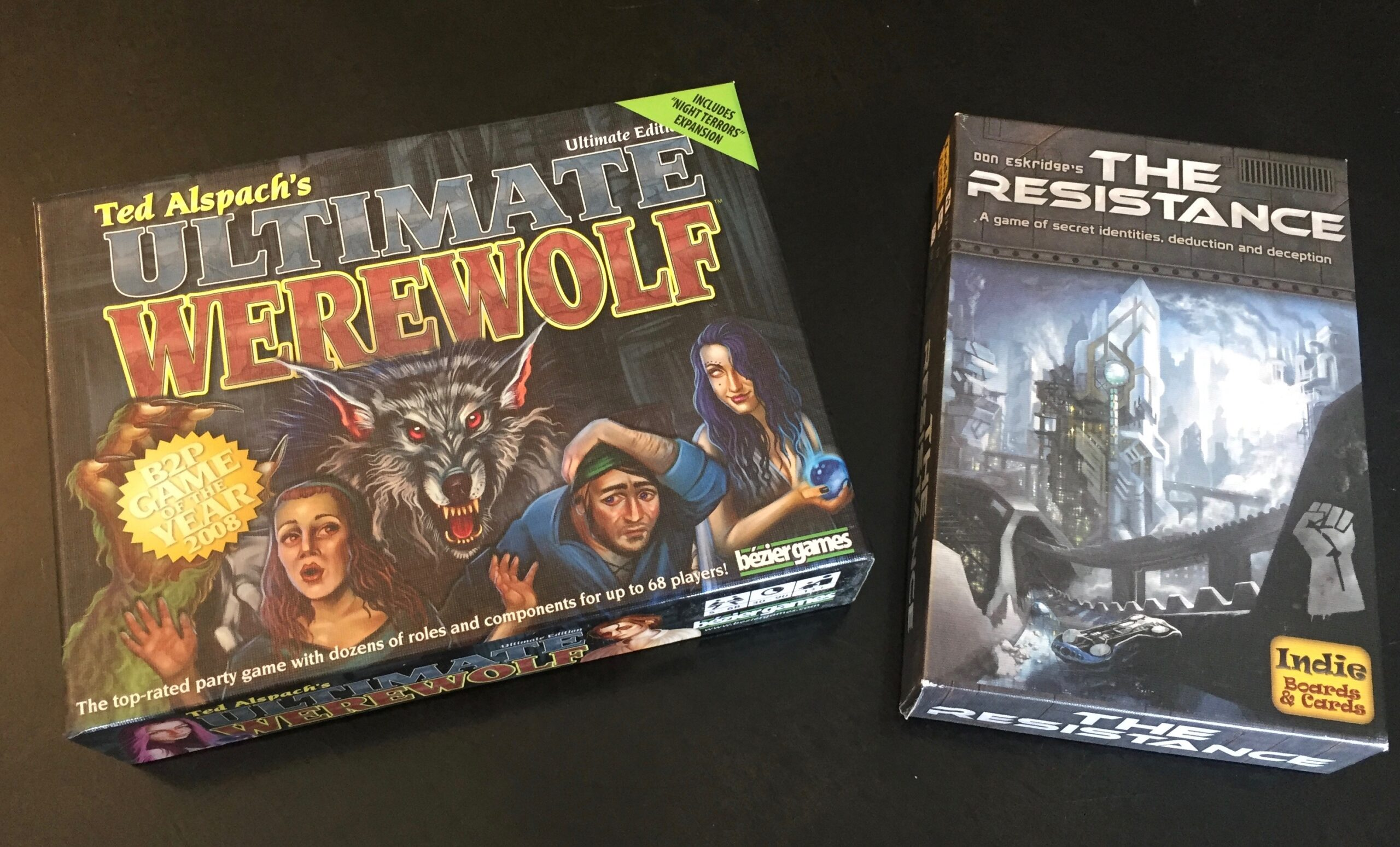 Ultimate Werewolf and The Resistance