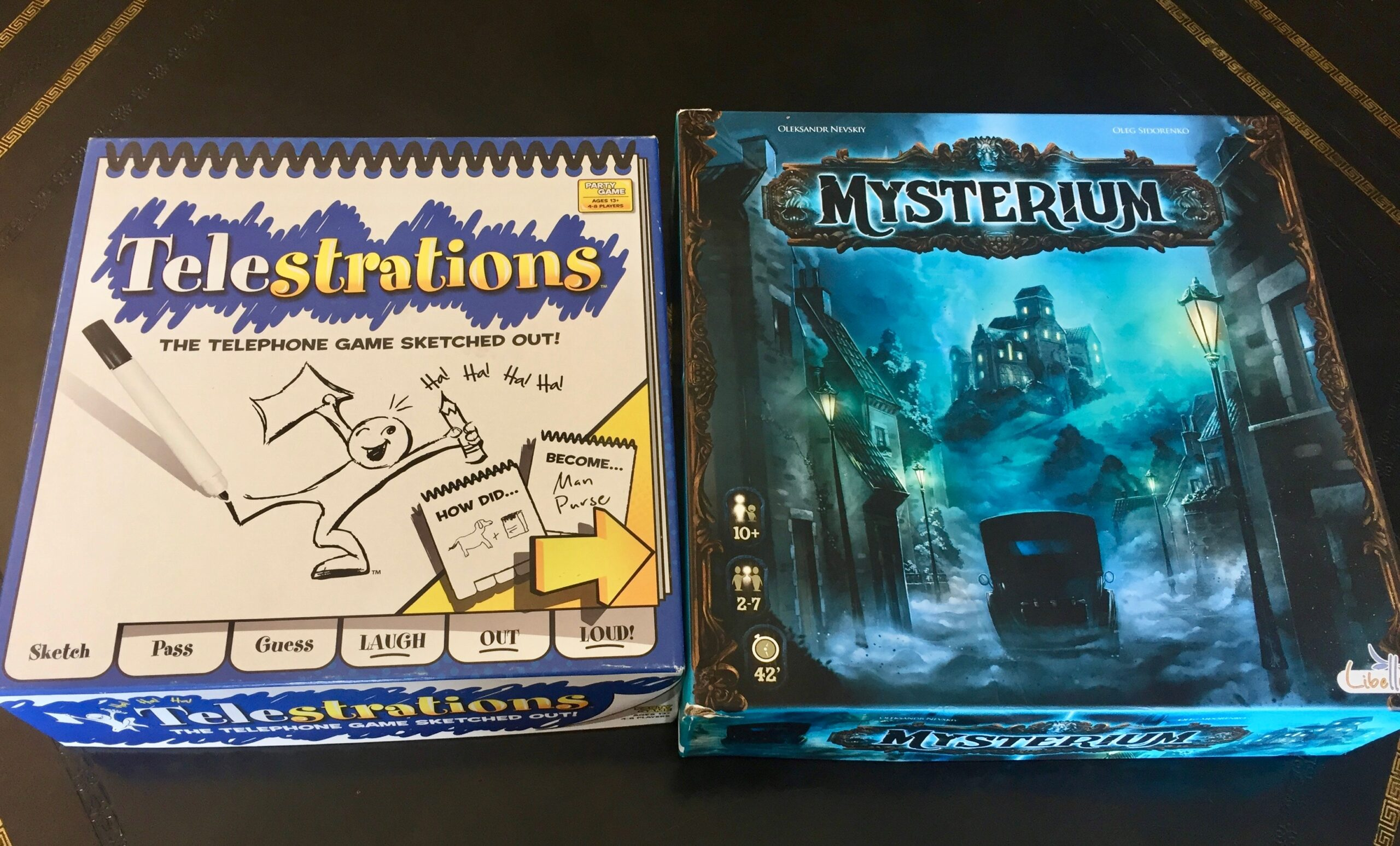 Telestrations and Mysterium