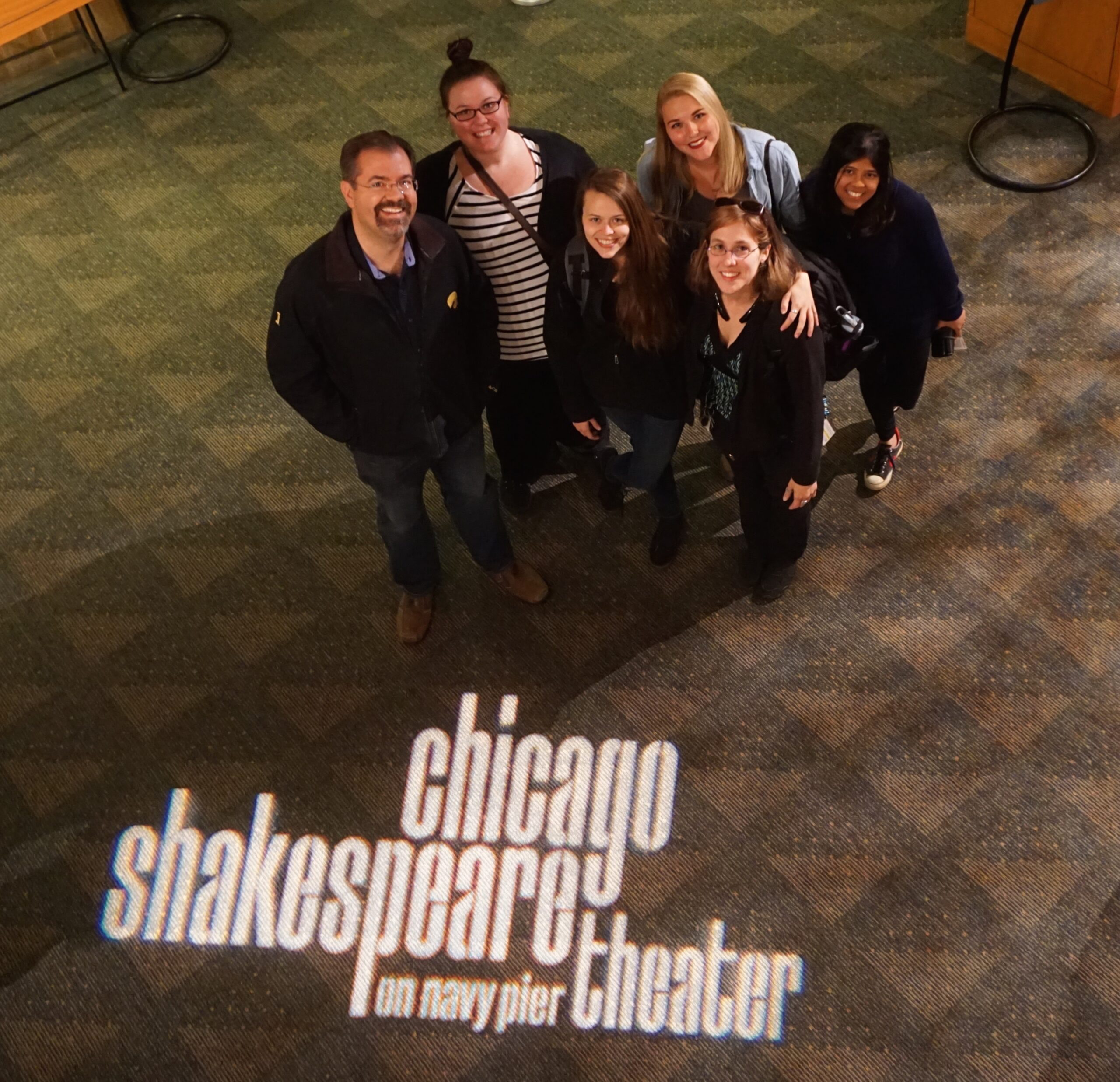 University of Iowa stage managers at Chicago Shakespeare Theater